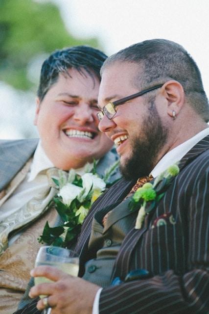 Weddings to the People Couple